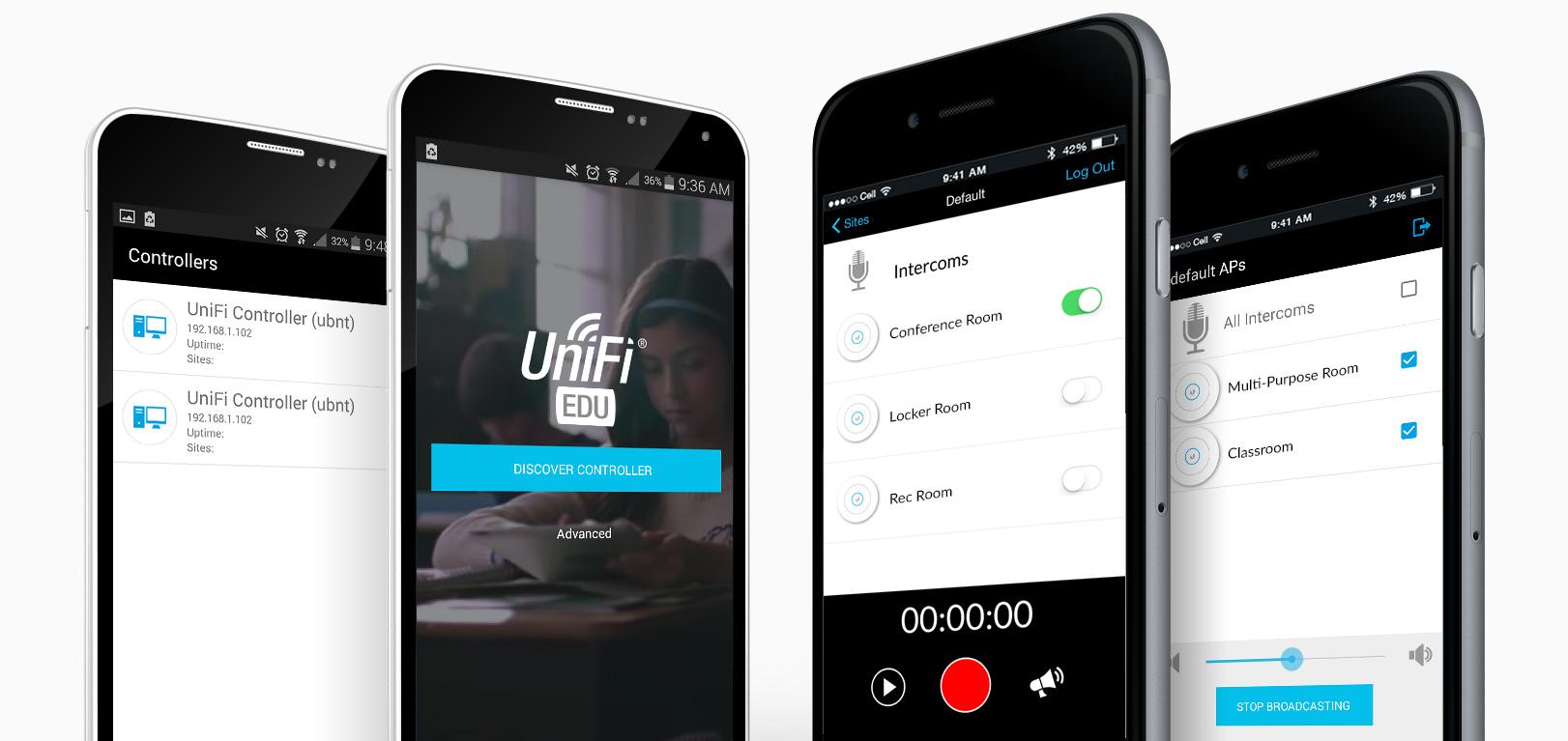 UniFi AC - мобильное приложение