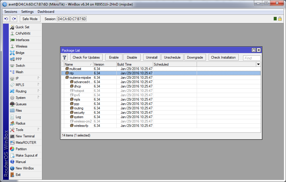 NPK-пакет ntp-6.34-mipsbe.npk
