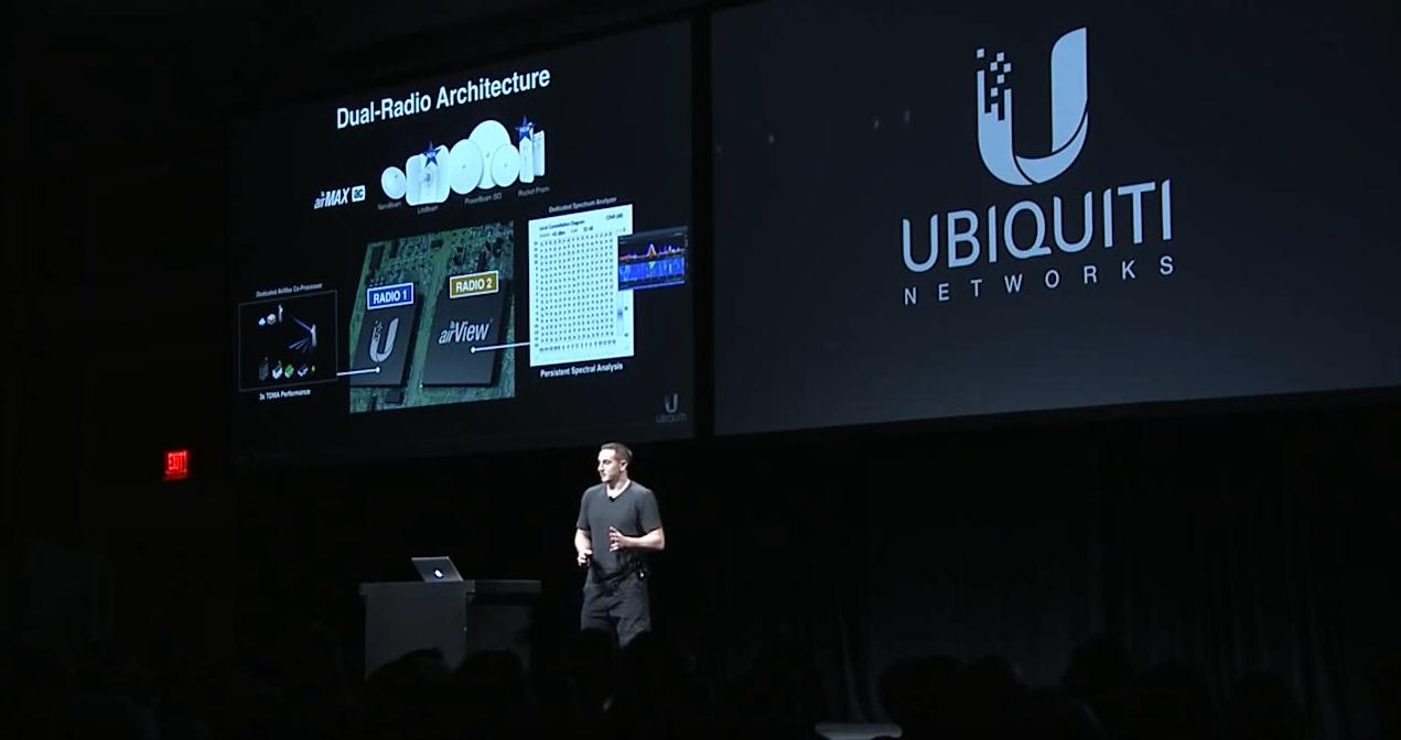 презентация на конференции Ubiquiti NEXT 2015