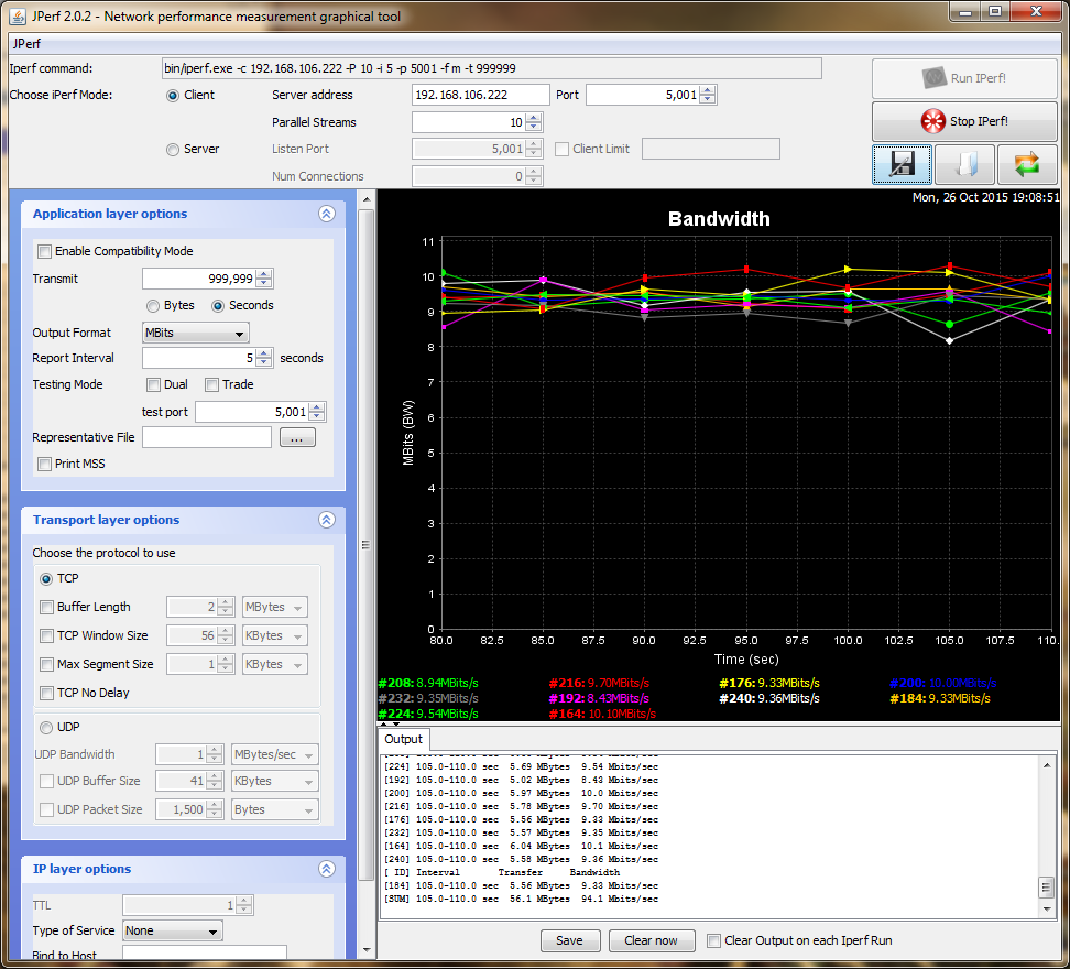 RBwAP2nD (wAP) тестирование при 10 потоках