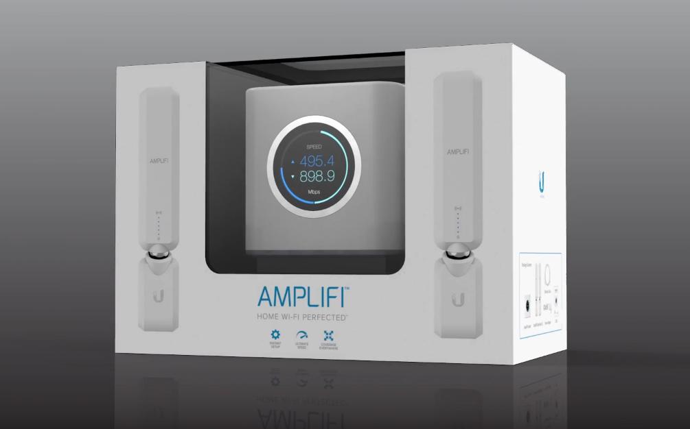 amplifi ubiquiti упаковка