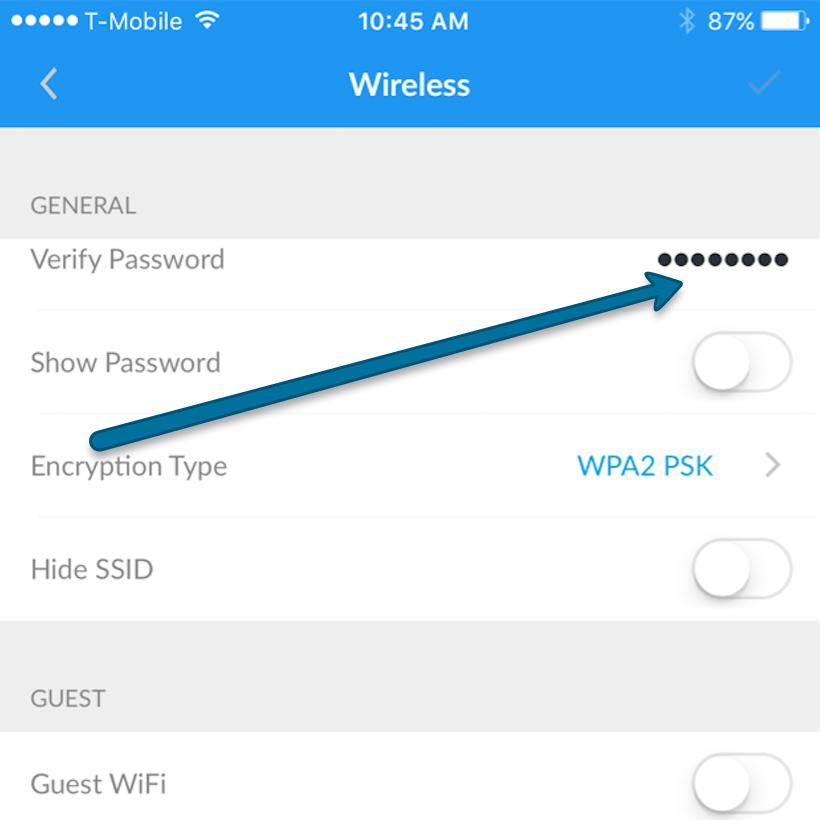 Настройка AmpliFi для iOS и Android