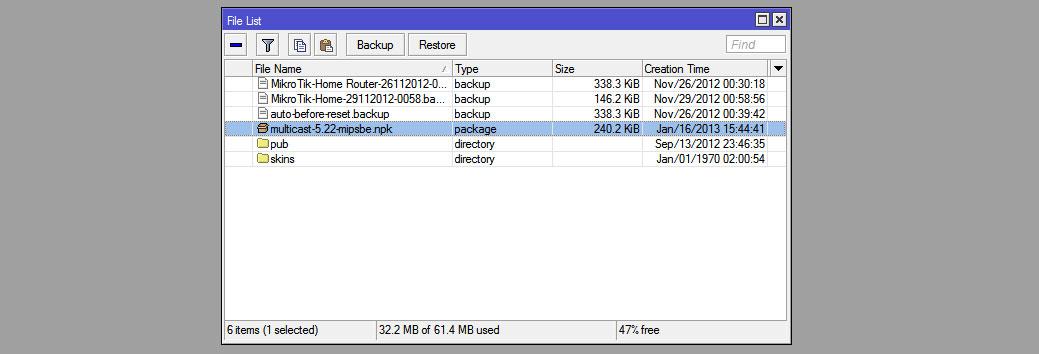 Mikrotik RouterOS и IPTV