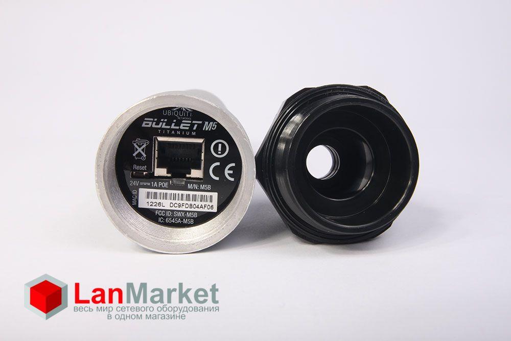 Ubiquiti Bullet M5 Titanium Ethernet порт
