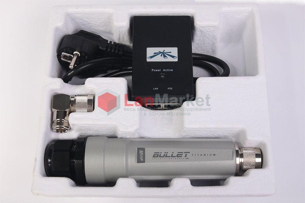 Ubiquiti Bullet M5 Titanium упаковка открытая