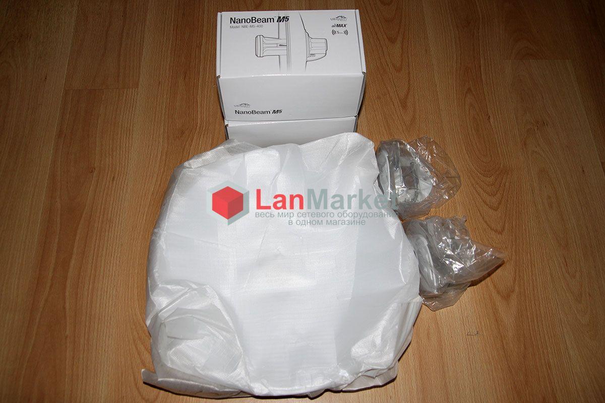 NanoBeam M5 NBE-M5-400 в упаковке