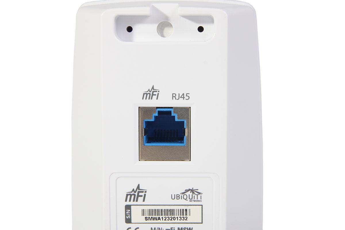 Ubiquiti Networks mFi-MSW интерфейсы