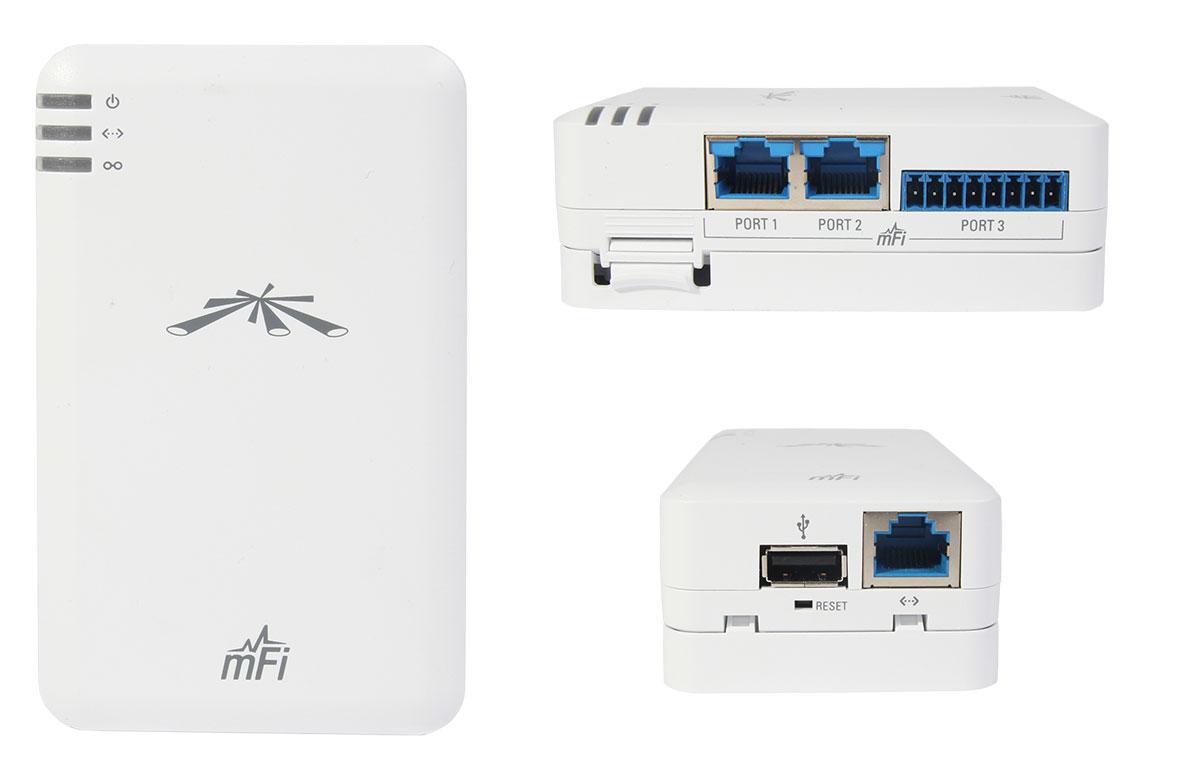 Ubiquiti Networks mFi mPort интерфейсы