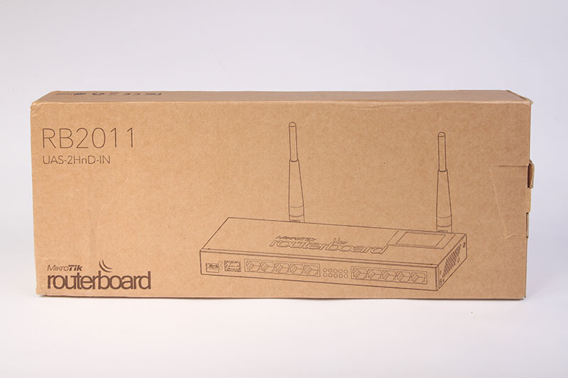Mikrotik Routerboard RB2011UAS-2HnD-IN
