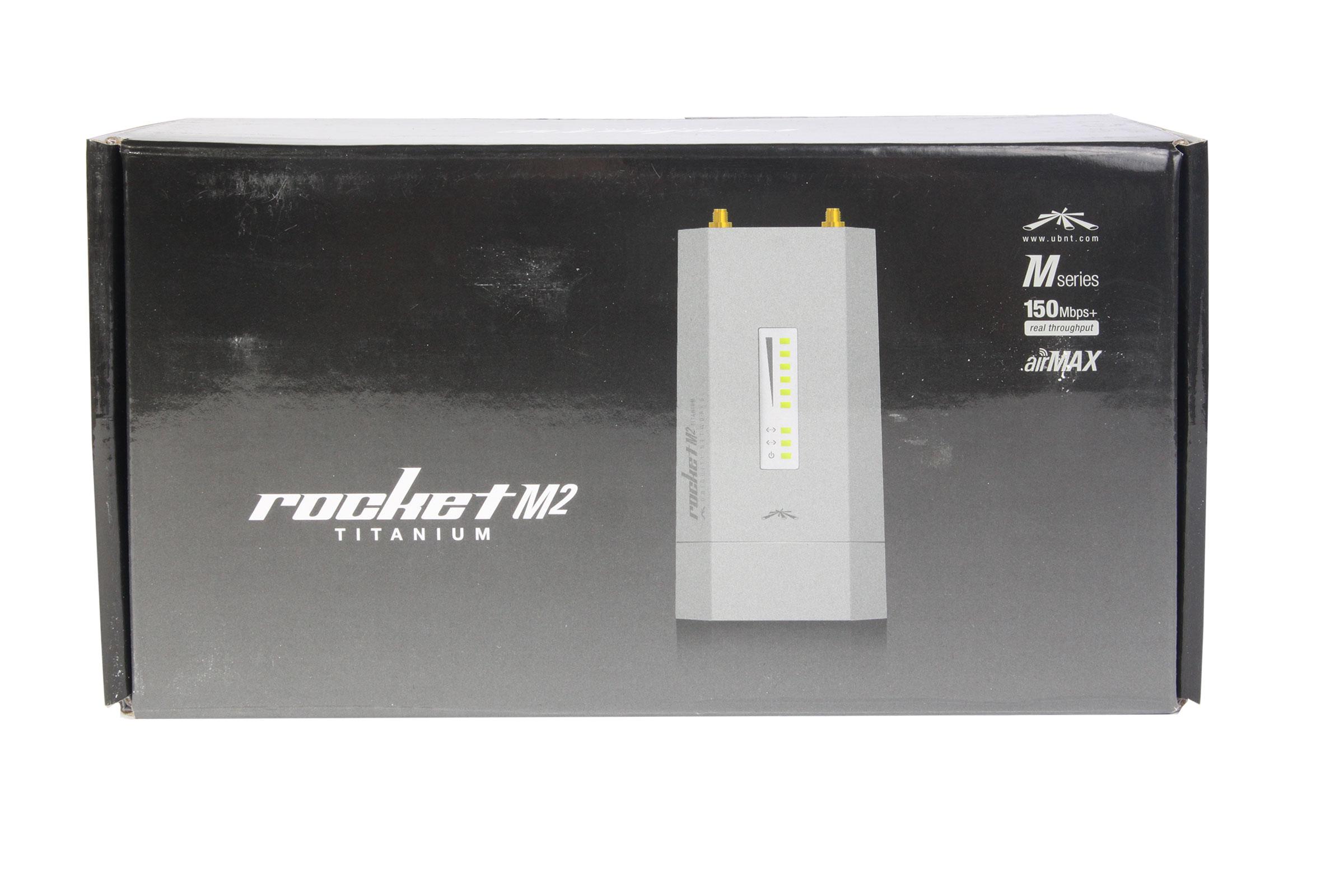 Ubiquiti Rocket M2 Titanium - упаковка