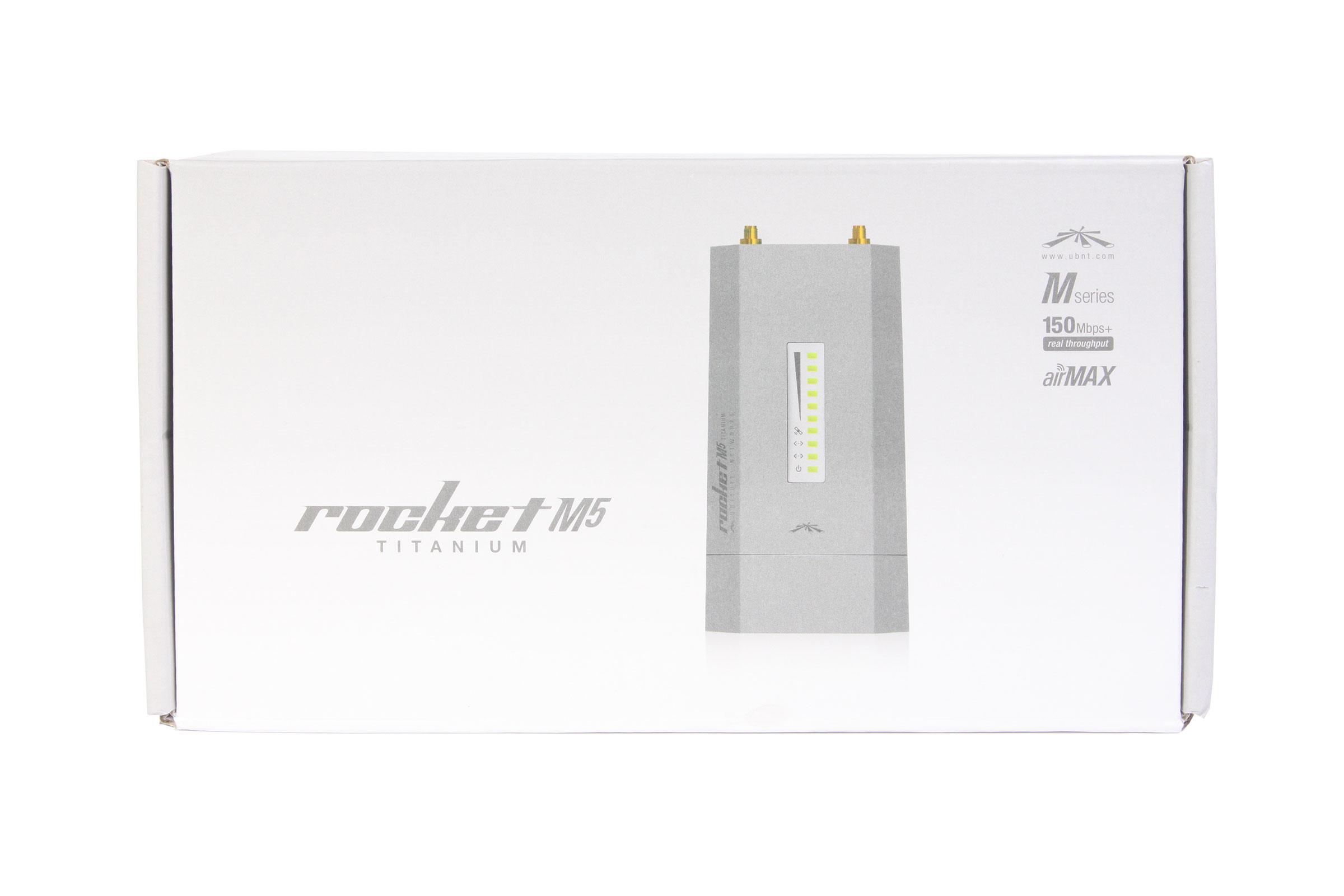 Ubiquiti Rocket M5 Titanium - упаковка