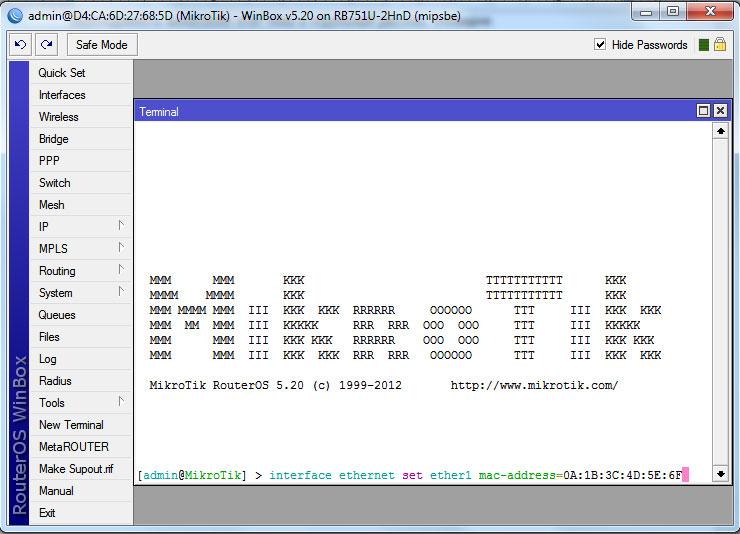Базовые настройки Mikrotik RouterOS: подключение к провайдеру